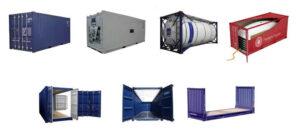 Классификация морских контейнеров